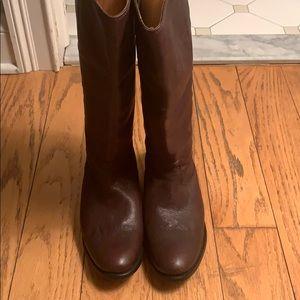 "Frye ""Melissa Button Back Zip"" Boots"
